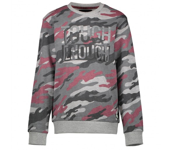 Sweater camouflage GREY MELEE