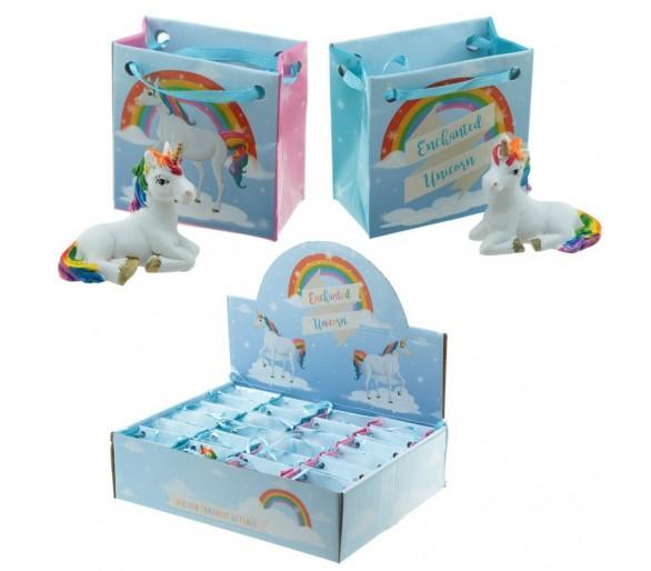 Regenboog Eenhoorn in mini gift bag