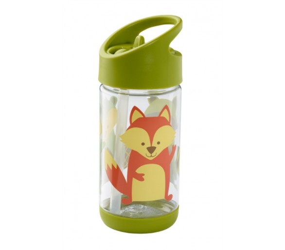 Flip - Sip clear Tritan drinkfles - What did the Fox Eat