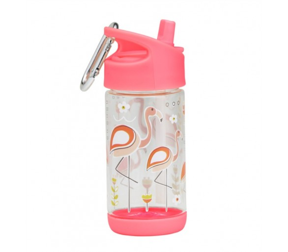 Flip - Sip clear Tritan drinkfles - Flamingo