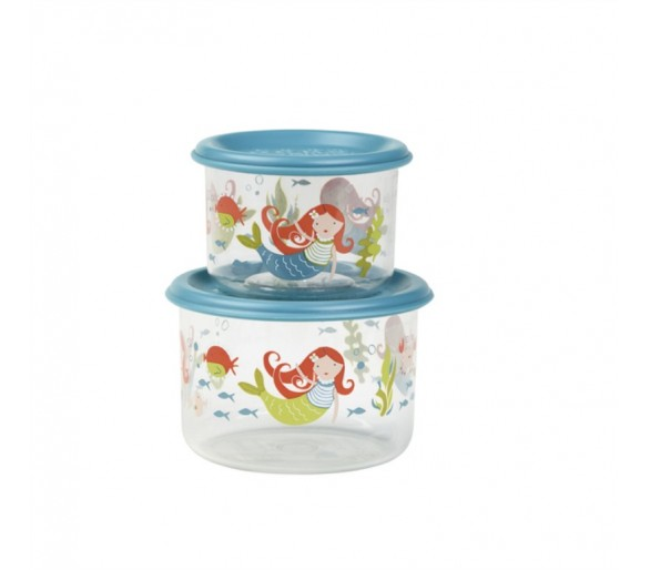 Good Lunch® snack containers (set of 2) Isla the Mermaid