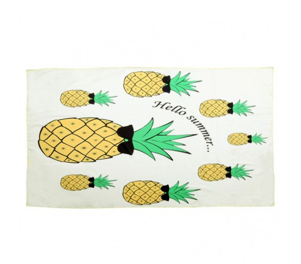 Beach Towel Long Hello Summer