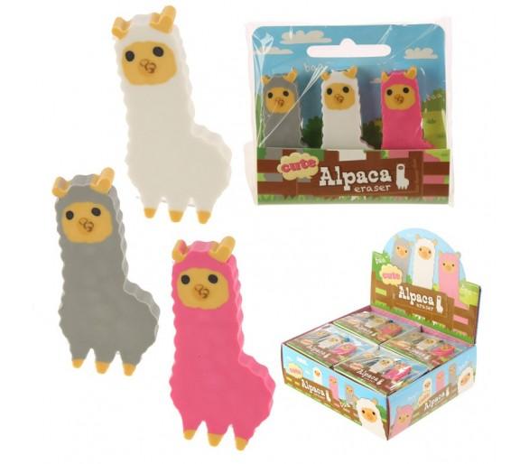 Set van 3 alpaca gommen
