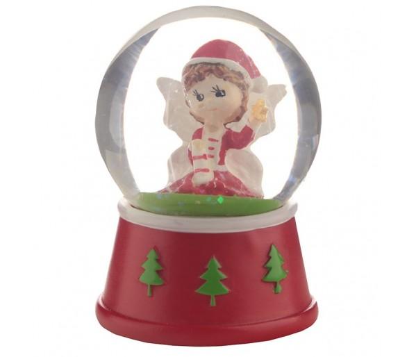 Kerstmis Fee Sneeuwbol