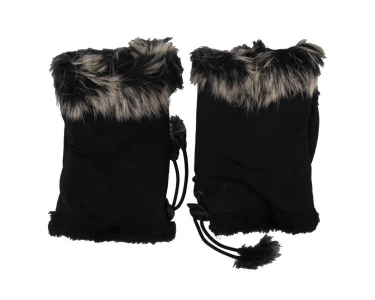 Hand Warmers Black Polyester