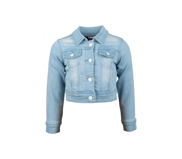 JACKET DENIM LIGHT BLUE