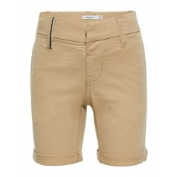 REGULAR FIT TWILL GEWEVEN SHORTS
