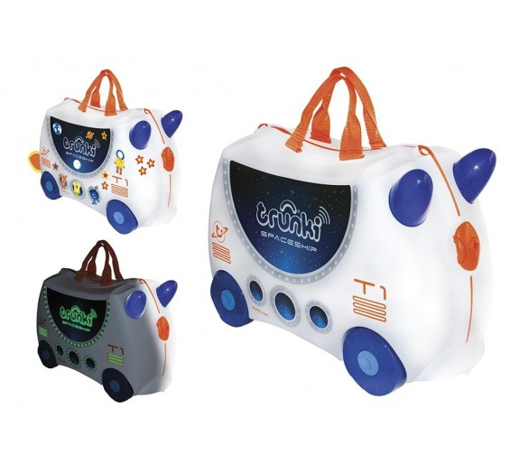 Trunki Ride-on: POLITIEWAGEN Percy 46x30x21cm, met