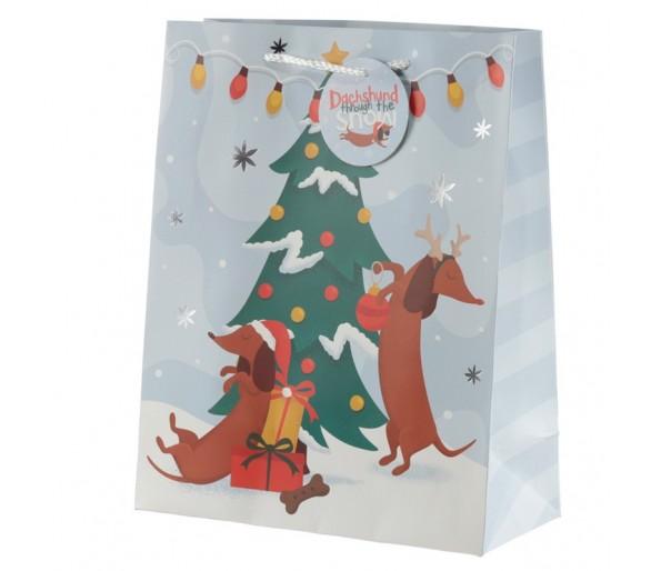 Kerstmis Tekkel Cadeautas - Large