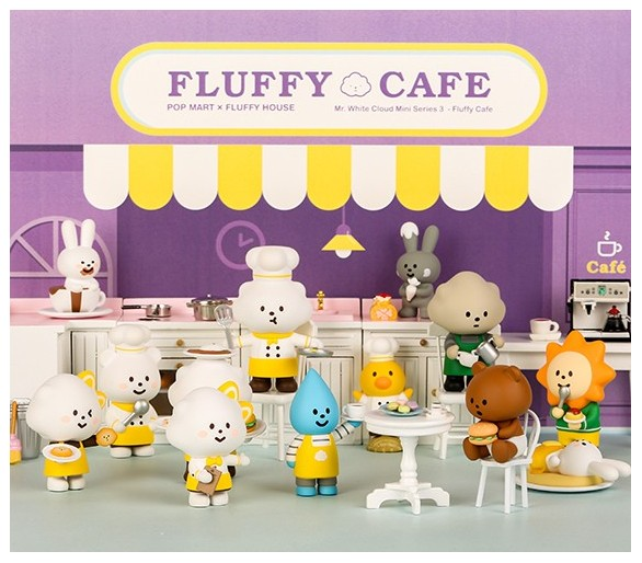 Pop Mart Fluffy Cafe