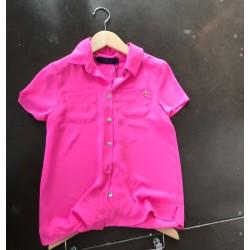 bloesje effen pink