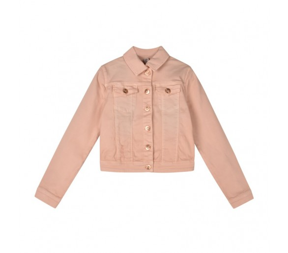 JACKET-COLOR COTTON ZALM