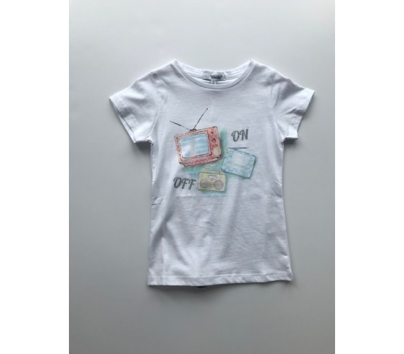 "T-Shirt km ""TV tjes"""