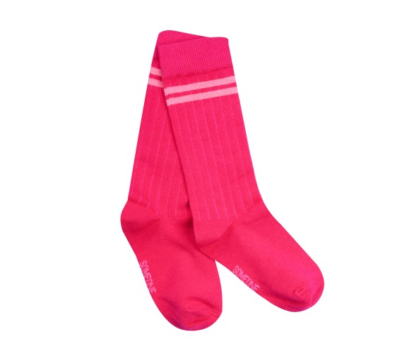 SOMEONE : SOCKS BRIGHT PINK