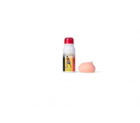 4 ALL SEASONS : Shower Foam Red voetbal