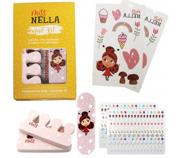 MISS NELLA : Nail and Accessories Set