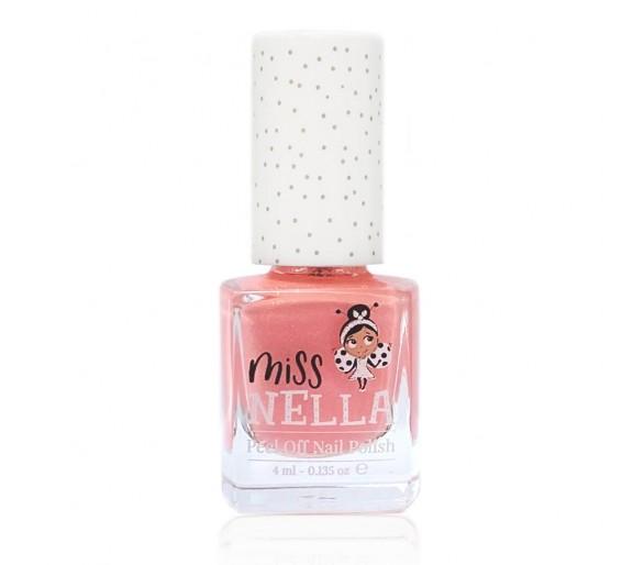 MISS NELLA : Peach Slushie 4ml Peel off Kids Nagellak