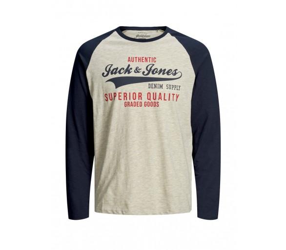 JACK & JONES : Leuk t-shirt lm mouw