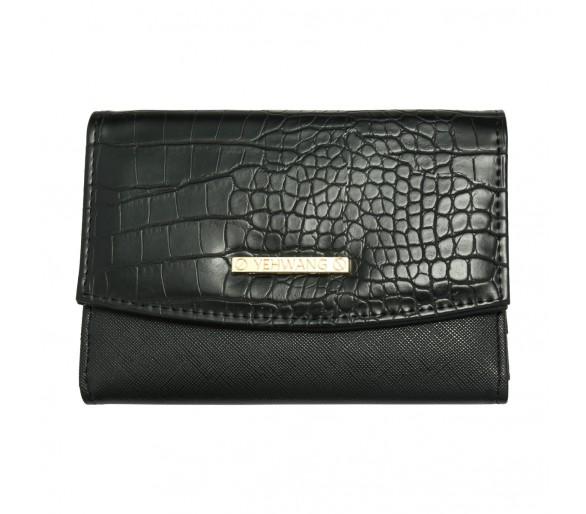 Opvouwbare portemonnee zwart