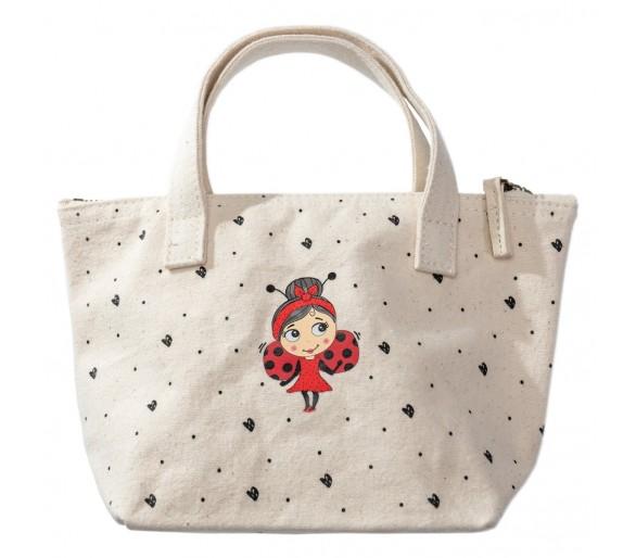 MISS NELLA : Canvas Makeup Bag