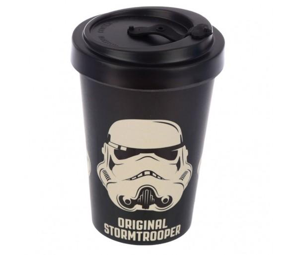 The Original Stormtrooper Zwarte Herbruikbare Bamboe composiet Reismok