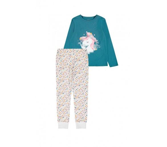 NAME IT : Super leuke 2-delige pyjama unicorn
