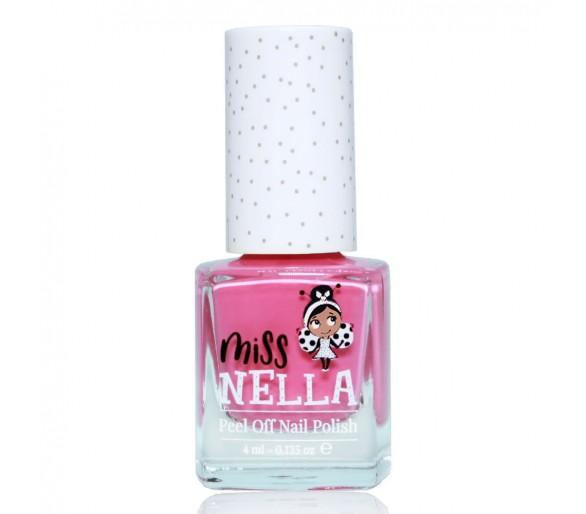 MISS NELLA : Pink A Boo 4ml Peel off Kids Nagellak