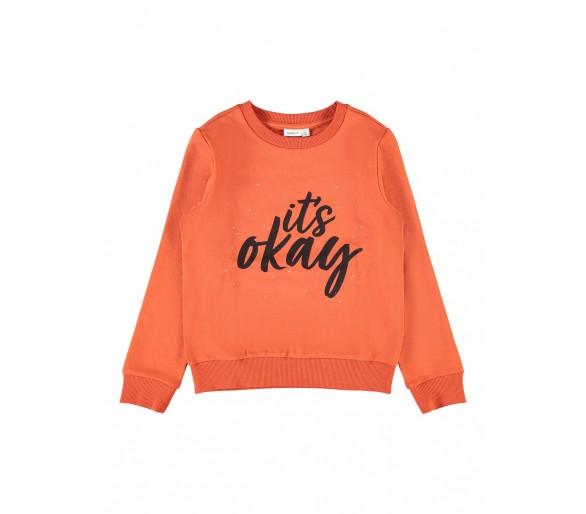 NAME IT : Zachte sweater zonder kap