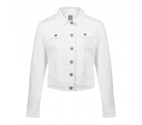 GEISHA : Jeansjacket white denim
