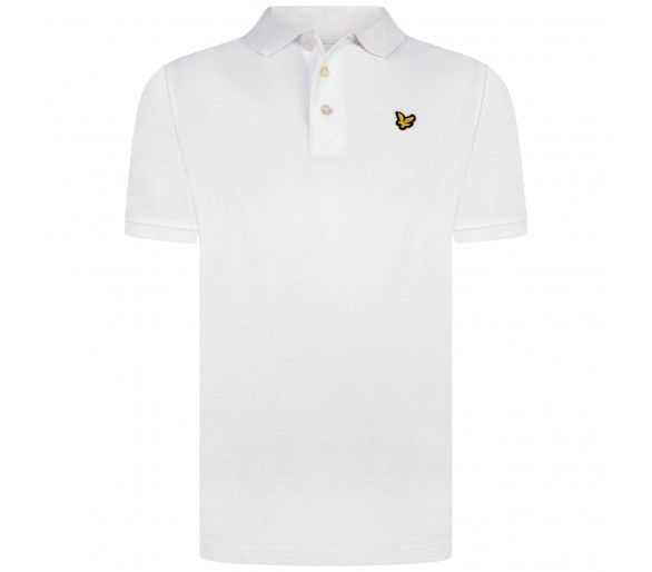 LYLE & SCOTT : CLASSIC POLO SHIRT BRIGHT WHITE