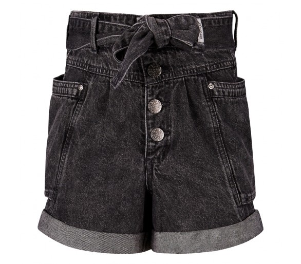 RETOUR : SHORT medium grey denim