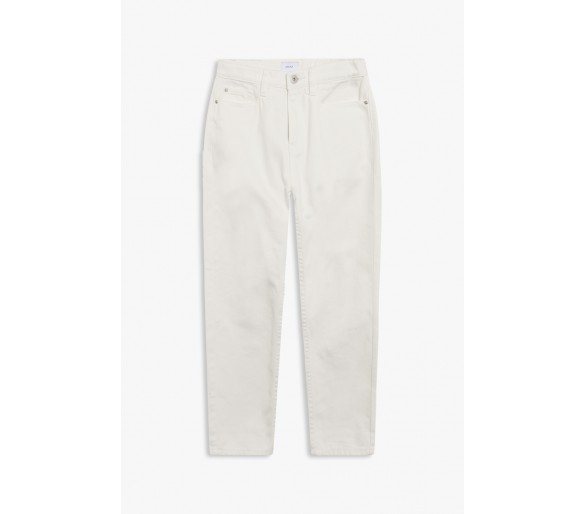 GRUNT : Mom White Jeans