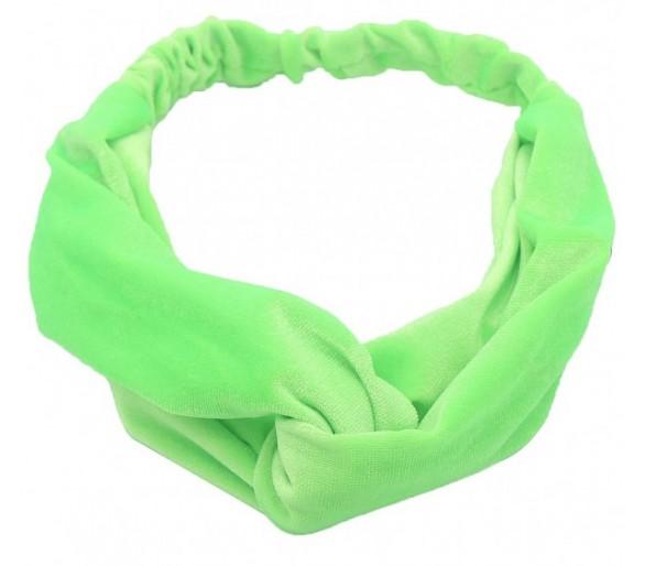 Super leuke haarband Bright Green