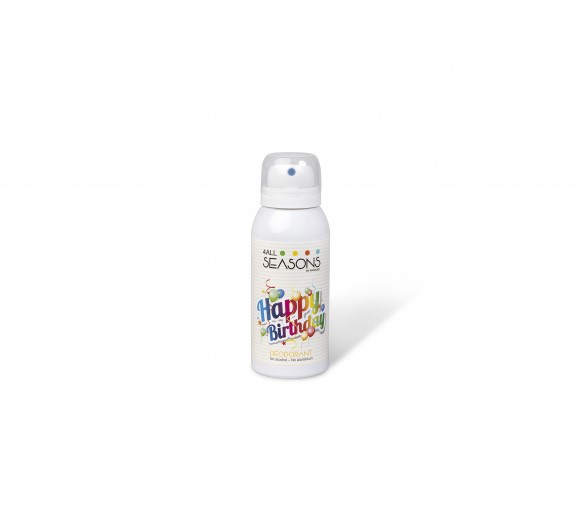 4 ALL SEASONS : Deodorant Happy Birthday 100ml