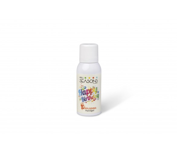 4 ALL SEASONS : Exploding Handgel Happy Birthday 100ml