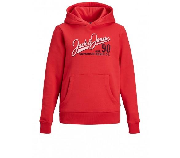 JACK & JONES : Sweatshirts True Red