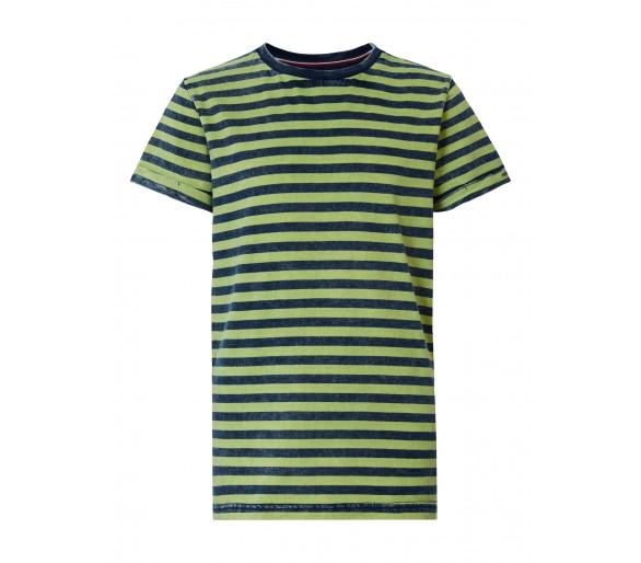PETROL : T-shirt SS R-Neck Lemon