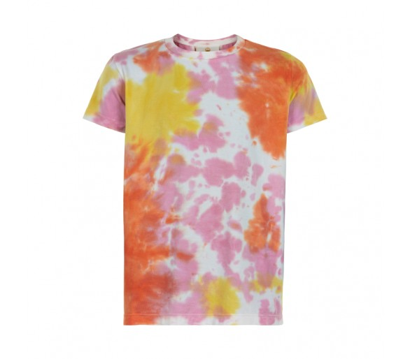 THE NEW : Cool tie dye jersey tee in soft organic