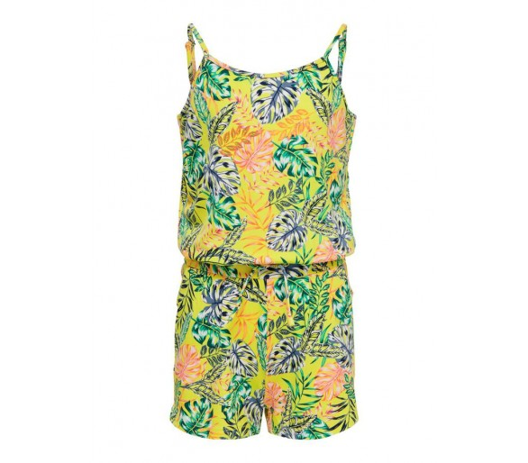 KIDS ONLY : PRINTED PLAYSUIT