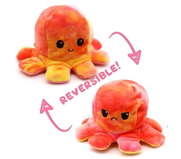 Reversible Octopus 20cm Orange