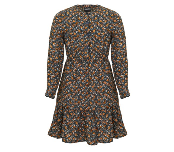 AWESOME by Someone : Dress long sleeves dark petro