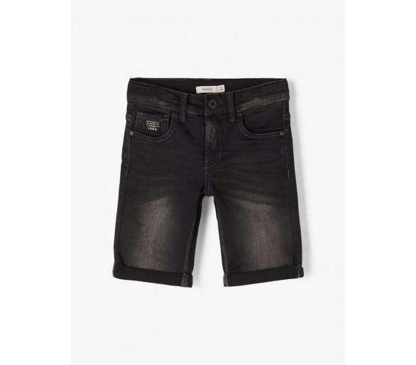 NAME IT : Shorts Black Denim