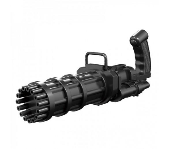 Gatling Electric Bubble Gun 20cm- Black