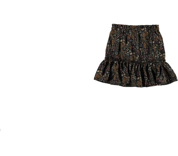 GEISHA : Skirt blackcamel combi